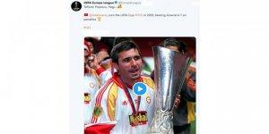 UEFA'dan Galatasaray paylaşımı