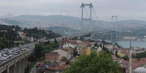 15 Temmuz Şehitler Köprüsü'nde trafik