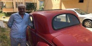1951 Model aracına gözü gibi bakıyor