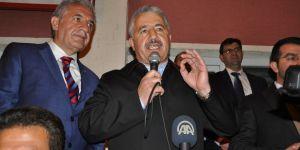 Ulaştırma Bakanı Arslan, Karslılara teşekkür etti