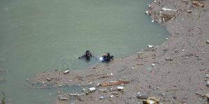 Barajda kaybolan işçi için AFAD ve dalgıçlar arama çalışması başlattı