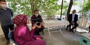 Cumhurbaşkanı Erdoğan'dan İzmir'deki şehit ailesine bayram telefonu