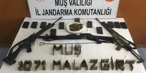 Muş'ta terör operasyonu: silah ve mühimmat ele geçirildi
