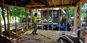 413 kaçak yapının tespit edildiği Antalya'da yıkımlar devam ediyor