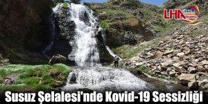 Susuz Şelalesi'nde Kovid-19 Sessizliği