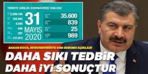 Türkiye'de Covid-19'dan bugün 25 kişi hayatını kaybetti