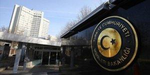 Dışişleri Bakanlığı, Güney Kıbrıs'ta camiye saldırıyı kınadı