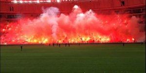 Bursaspor'dan görkemli kutlama