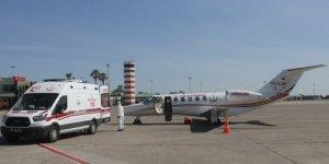 Rusya'daki Türk hasta, ambulans uçakla Türkiye'ye getirildi