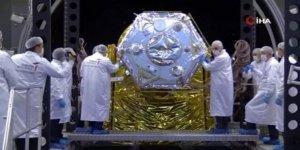 """Bakanlardan milli uydu İMECE'ye """"Tarihi"""" dokunuş"""