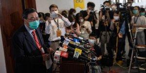 Hong Kong parlamentosunda Çin Milli Marşı yasası kabul edildi