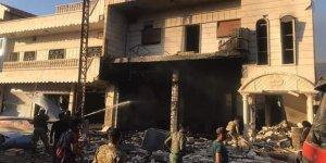 Resulayn'da bomba yüklü araç patladı: 3 ölü
