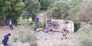 Isparta'da otomobil şarampole uçtu: 1 ölü