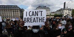 Brüksel'deki gösterilerde 256 kişi gözaltına alındı
