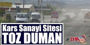 Kars Sanayi Sitesi Toz Duman