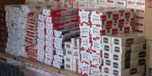 Kars'ta 1150 paket kaçak sigara ele geçirildi