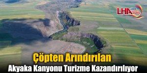 Çöpten Arındırılan Akyaka Kanyonu Turizme Kazandırılıyor