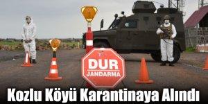Kars'ta Kozlu Köyü Karantinaya Alındı