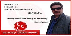 MHP İlçe Başkanlığına Kemal Aydemir Adaylığını Açıkladı
