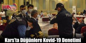 Kars'ta Düğünlere Kovid-19 Denetimi