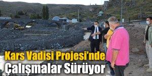 Kars Vadisi Projesi'nde Çalışmalar Sürüyor