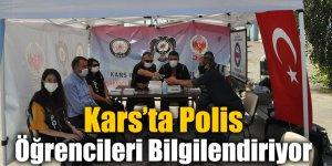 Kars'ta Polis Öğrencileri Bilgilendiriyor