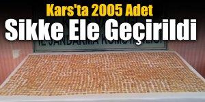 Kars'ta 2005 Adet Sikke Ele Geçirildi