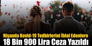 Nişanda Kovid-19 Tedbirlerini İhlal Edenlere 18 Bin 900 Lira Ceza Yazıldı