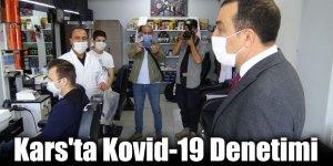 Kars'ta Kovid-19 Denetimi