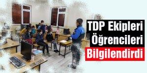 TDP Ekipleri Öğrencileri Bilgilendirdi