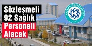 Kafkas Üniversitesi 92 Sağlık Personeli Alacak