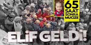 3 yaşındaki Elif 65 saat sonra enkazdan yaralı olarak kurtarıldı