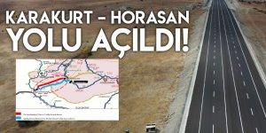 Karakurt–Horasan Yolu Açıldı