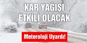 Karslılar Dikkat! Meteoroloji Uyardı Kar Yağışı Geliyor