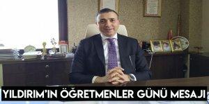 Dr. Erdoğan Yıldırım'ın Öğretmenler Günü Mesajı
