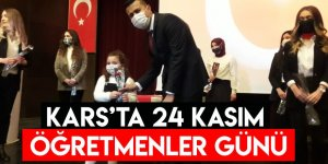 Kars'ta 24 Kasım Öğretmenler Günü