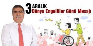 Taner Toraman'ın Dünya Engelliler Günü Mesajı