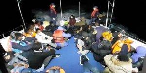 Didim'de 17 düzensiz göçmen yakalandı