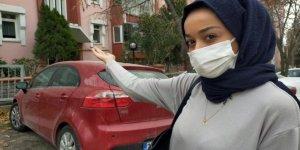 Alkollü şahıstan başörtülü kadına çirkin saldırı