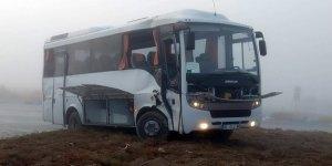 Konya'da sis kazaya neden oldu: 10 yaralı