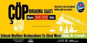 """Kars Belediyesi """"Temiz Çevrem"""" Kampanyası Başlattı"""