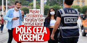 Yargıtay'dan maske cezası kararı