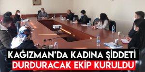 Kağızman'da Kadına Şiddeti Durduracak Ekip Kuruldu