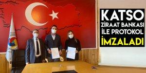 KATSO, Ziraat Bankası İle Protokol İmzaladı