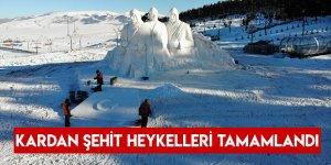 Kardan Şehit Heykelleri Tamamlandı