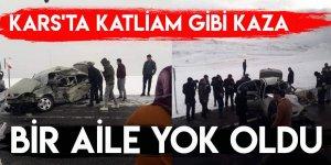 Kars'ta Katliam Gibi Kaza: Bir Aile Yok Oldu