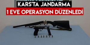 Kars'ta Jandarma 1 Eve Operasyon Düzenledi