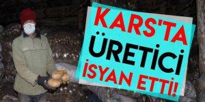 KARS'TA ÜRETİCİ İSYAN ETTİ!