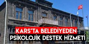 Kars'ta Belediyeden Psikolojik Destek Hizmeti
