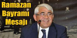Başkan Karaçanta'nın Ramazan Bayramı Mesajı
